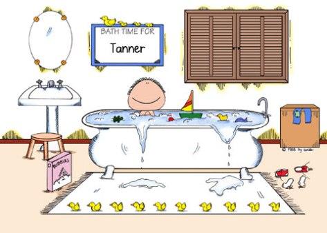 Bath time ease