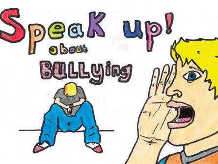 Bullying - It's wrong. Speak up if you see it happening!